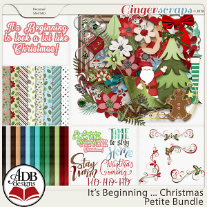 It's Beginning ... Christmas Bundle by ADB Designs