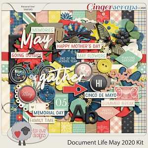 Document Life May 2020 Kit by Luv Ewe Designs