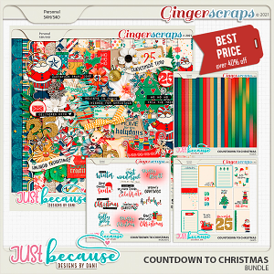 Countdown to Christmas Bundle by Just Because Studio