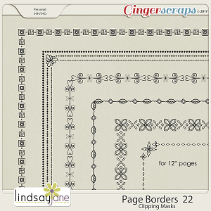 Page Borders 22 by Lindsay Jane