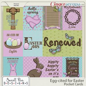 Eggcited for Easter Pocketcards