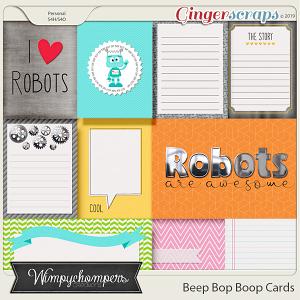 Beep Bop Boop Cards