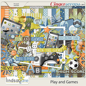 Play and Games by Lindsay Jane