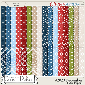 #2020 December - Extra Papers by Connie Prince