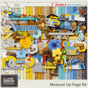 Measure Up Page Kit by Aimee Harrison
