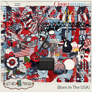 Born In The USA kit by Scraps N Pieces