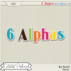 Be Bold - Alpha Pack AddOn by Connie Prince