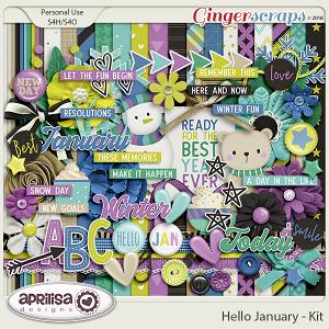 Hello January - Kit