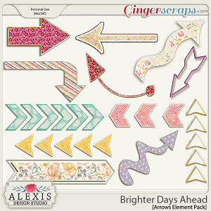 Brighter Days Ahead - Arrows Element Pack