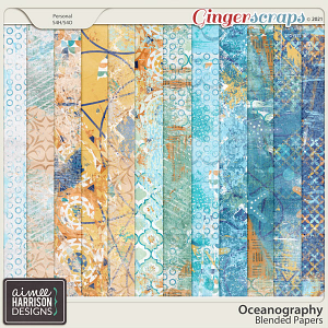 Oceanography Blended Papers by Aimee Harrison