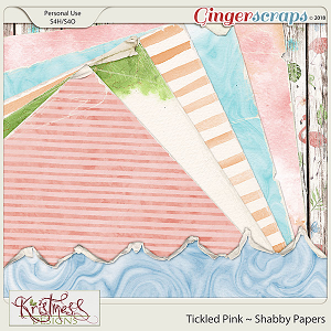 Tickled Pink Shabby Papers