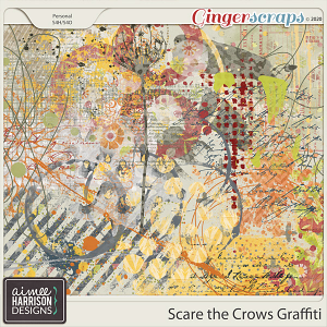 Scare the Crows Graffiti by Aimee Harrison