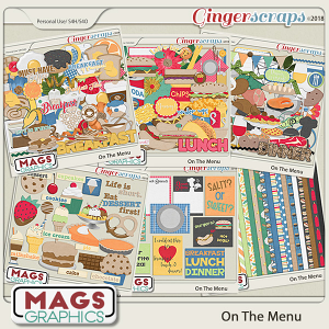 On The Menu MEGA BUNDLE by MagsGraphics