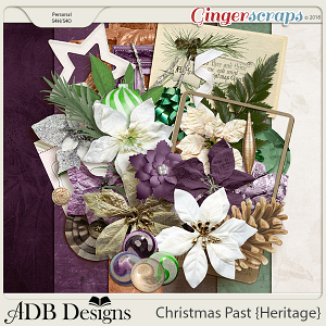 Christmas Past Petite Kit by ADB Designs