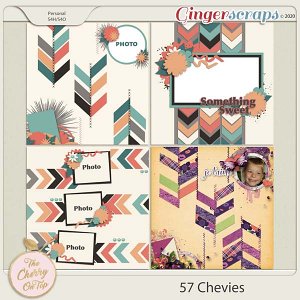 The Cherry On Top:  57 Chevies