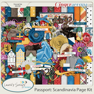 Passport: Scandinavia Page Kit