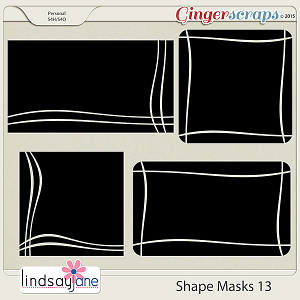 Shape Masks 13 by Lindsay Jane