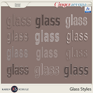 Glass Styles by by Karen Schulz