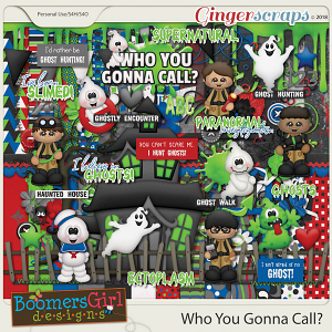 Who You Gonna Call? by BoomersGirl Designs