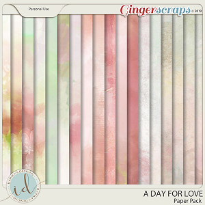 A Day For Love Paper Pack by Ilonka's Designs
