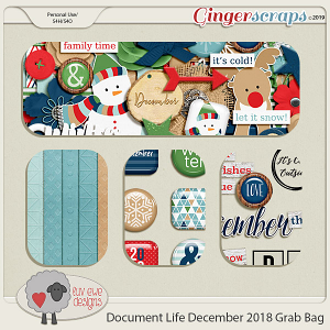 Document Life December 2018 Grab Bag by Luv Ewe Designs