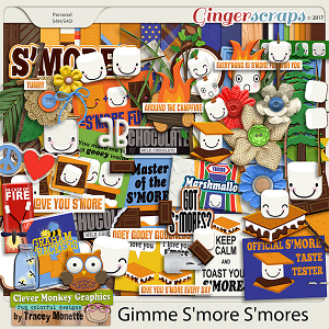 Gimme S'more S'mores by Clever Monkey Graphics