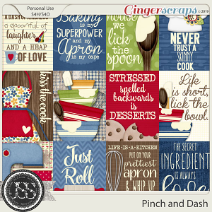 A Pinch and A Dash Pocket Scrapbook Cards