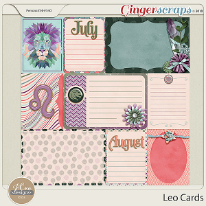 Leo Cards by JoCee Designs