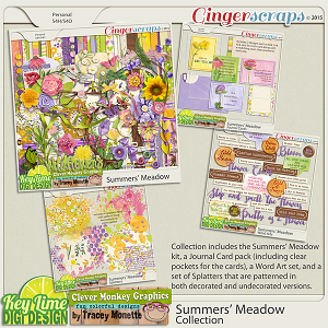 Summers' Meadow Collection by Clever Monkey Graphics & Key Lime Digi Design