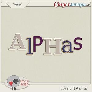 Losing It Alphas by Luv Ewe Designs