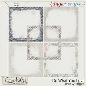 Do What You Love Edges by Tami Miller Designs
