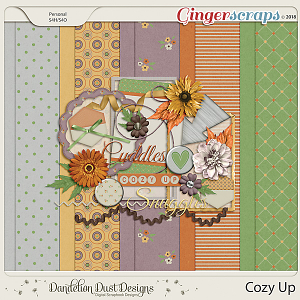 Cozy Up Digital Scrapbook Kit By Dandelion Dust Designs