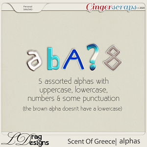 Scent Of Greece: Alphas by LDragDesigns