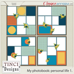 My photobook: personal life 1.