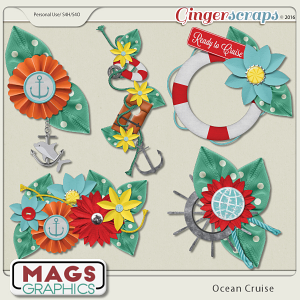 Ocean Cruise CLUSTERS by MagsGraphics