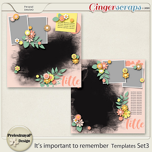 It's important to remember Templates Set3