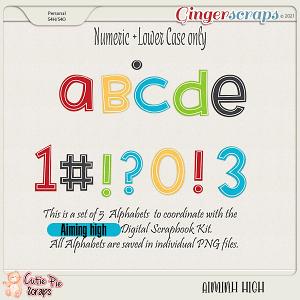 Aiming High Alphabets