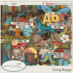 Going Buggy Page Kit