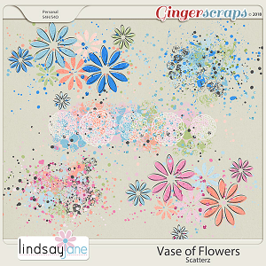 Vase of Flowers Scatterz by Lindsay Jane