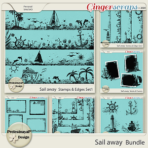 Sail away Masks & Stamps Bundle