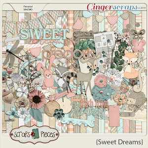 Sweet Dreams Kit by Scraps N Pieces