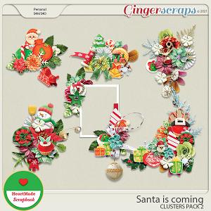 Santa is coming - clusters pack 2