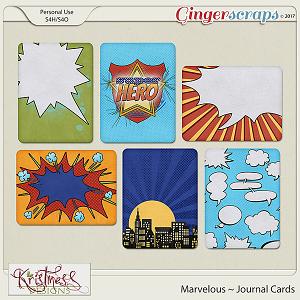 Marvelous Journal Cards
