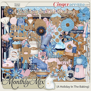GingerBread Ladies Monthly Mix: A Holiday In The Baking