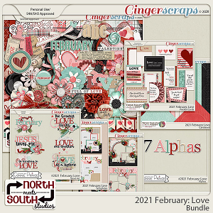 2021 February: Love Bundle by North Meets South Studios