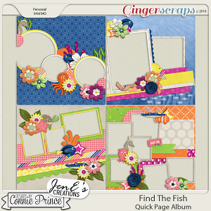 Find The Fish - Quick Pages