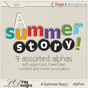 A Summer Story: Alphas by LDragDesigns