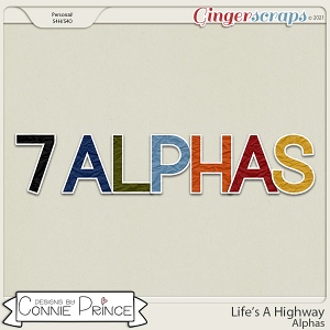 Life's A Highway - Alpha Pack AddOn by Connie Prince
