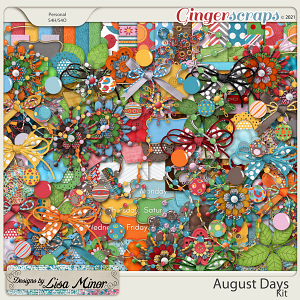 August Days from Designs by Lisa Minor