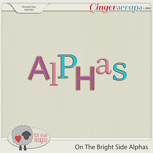 On The Bright Side Alphas by Luv Ewe Designs